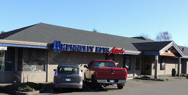 exterior of Kennelly Key Music