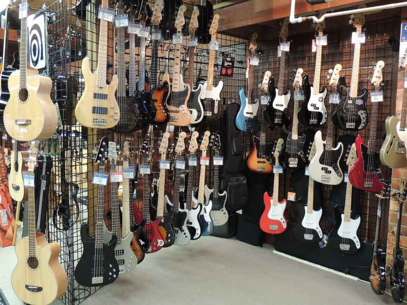 Kennelly has a big selection of guitars and more
