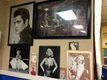Elvis and Marilyn at Jose's Taqueria