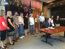 Zoning Legislation Signing