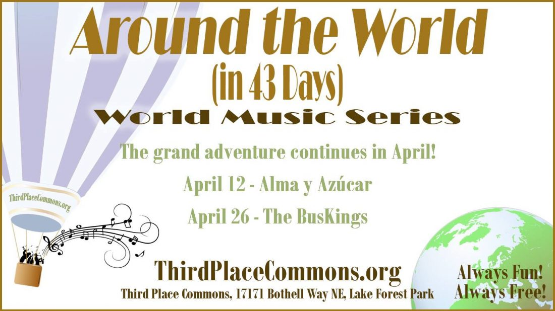 World Music at Third Place Commons Stage